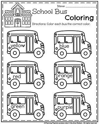 bus coloring pages preschool 1000 images about best of back to school starting the
