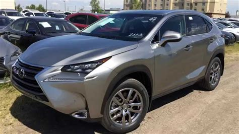 lexus atomic silver nx new atomic silver 2015 lexus nx 200t awd luxury package