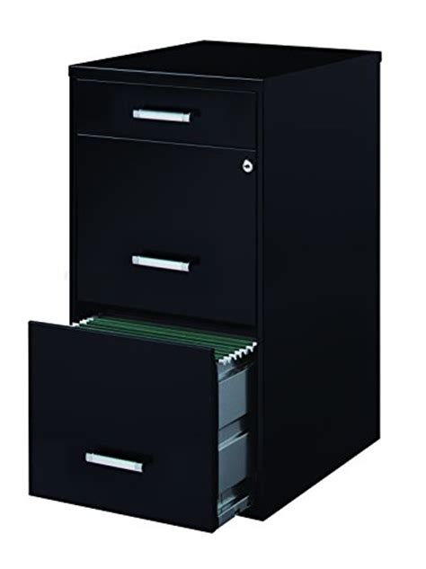 Home Office Business File Vertical 3 Drawer 18 Inch Deep 3 Drawer Vertical Filing Cabinet
