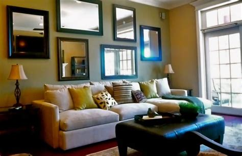 mirrors on walls in living rooms 5 ideas of modern living room mirrors
