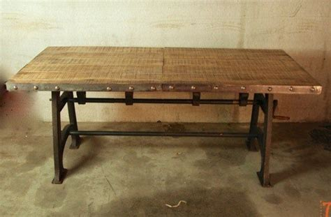 Table A Manger Industrielle 91 by Table Industrielle Extensible Dining Room