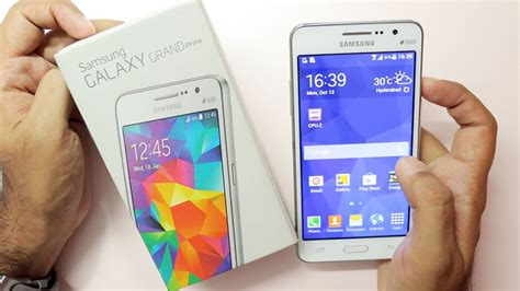 samsung galaxy grand prime unboxing on overview