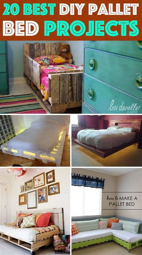 Pallet Furniture Diy Crafts Directory Of Free Projects 20 Best Diy Pallet Bed Projects Pretty Enough To Take Your Breath Away Diy Pallet Bed