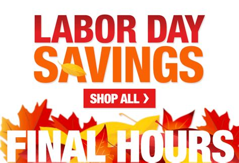 home depot last call for labor day savings milled