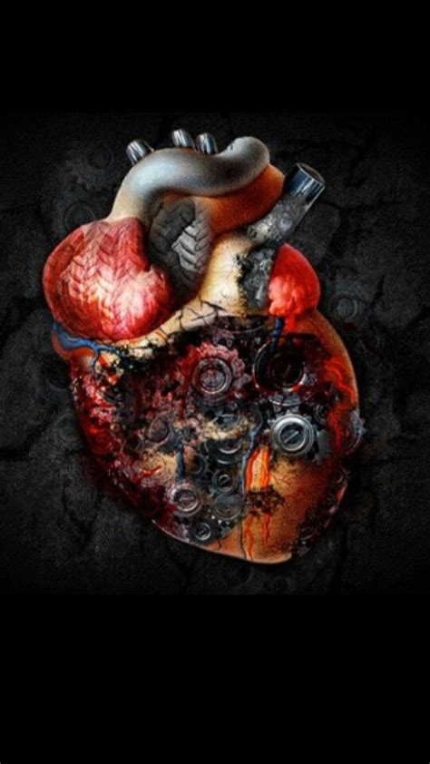 imagenes de corazones mecanicos corazon mecanico coraz 243 n humano pinterest