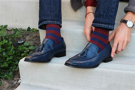 the looksmith how to wear dress shoes with