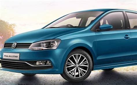 new volkswagen polo india all new volkswagen polo allstar unveiled in india