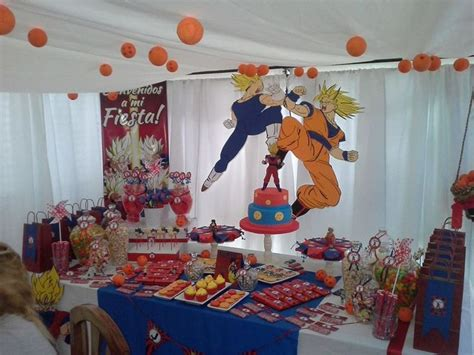 decoracion con esferas de dragon ball z decoracion dragon ball z fiesta dragon ball pinterest
