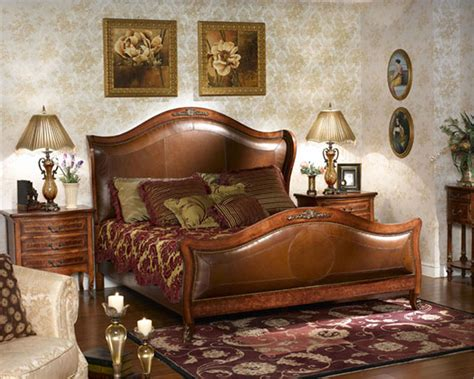 King Louis Bedroom Furniture by Infinity Furniture Classic Bedroom Set Louis Xvi Inlv881set