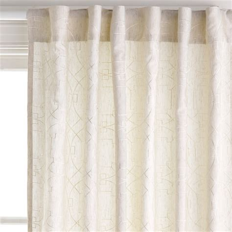 tab top linen curtains carraway linen lightfiler 140x230cm concealed tab top