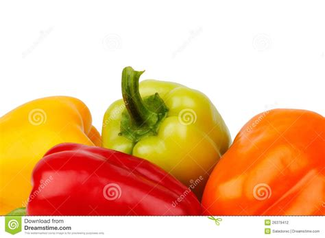 colored peppers colored peppers stock photography image 26379412