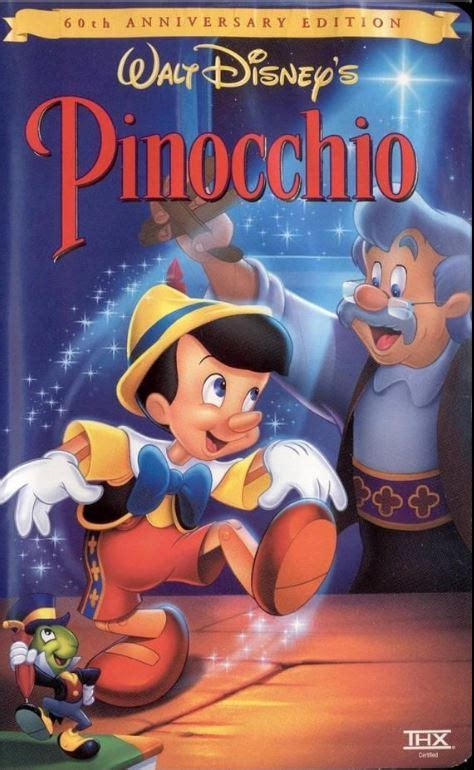 libro frog and the stranger image pinocchio 60th anniversary edition vhs jpg disney wiki fandom powered by wikia