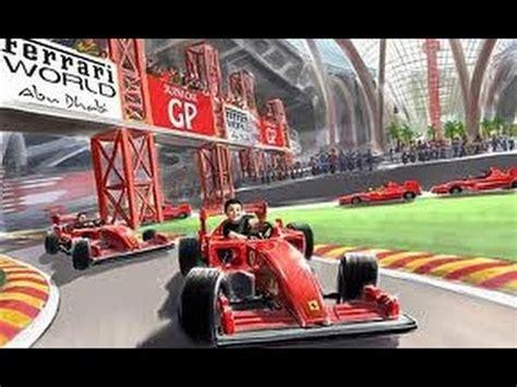 Ferrari Land In Dubai by Ferrari World Dubai Junior Gt Youtube