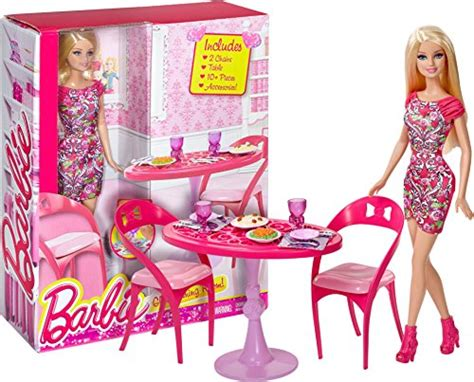 barbie dining room barbie 12 quot glam dining room set barbie home furnishing