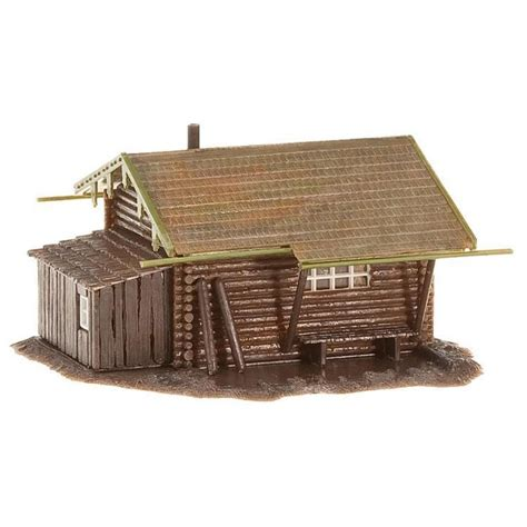 Faller Countrysite Decor Acceessories Miniature Building Ho Scale faller 130293 ho 1 87 forest log cabin passion132