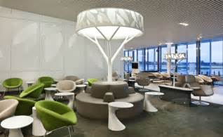 the new air business lounge design inspired by nature designrulz
