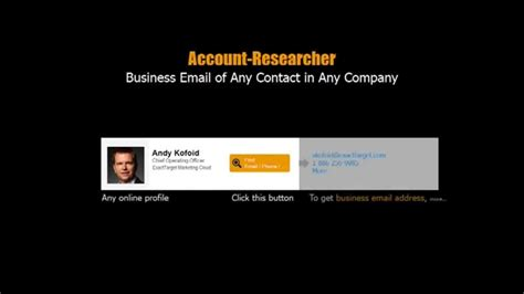 Business Email Address Finder How To Find Business Email Addresses Phone Number Of Any
