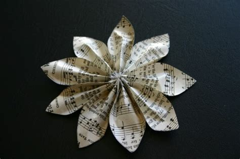 What Can You Make Out Of Paper - recycled paper flower beginning crafting a green world