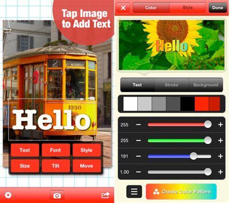 phonto apk cara menambahkan tulisan pada foto menggunakan aplikasi mobile software pc lini tekno