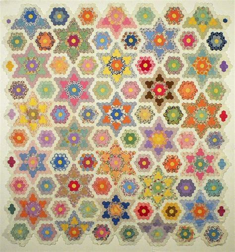 Hexagon Patchwork Blanket - 600 best quilts hexagons images on quilt