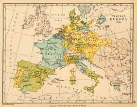 Western European Map by Western Europe In 1700 Full Size