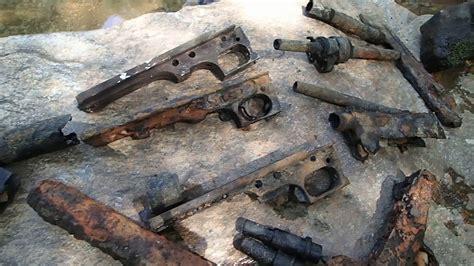u boat watch repairs london video 400 machine gun parts found in the river youtube