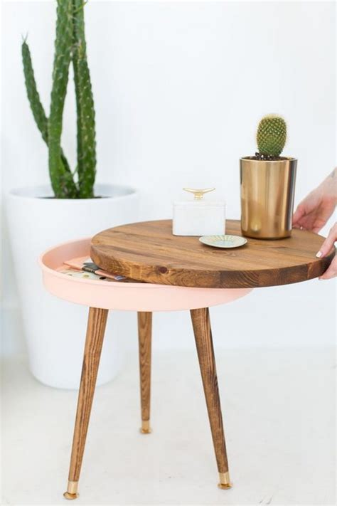 how to build a side table 25 diy side table ideas with lots of tutorials 2017