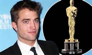Oscar Buzz In by Pearce Builds Oscar Buzz Co Robert Pattinson