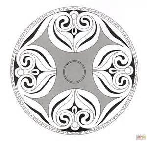 celtic mandala coloring pages free celtic mandala 7 coloring page free printable coloring pages