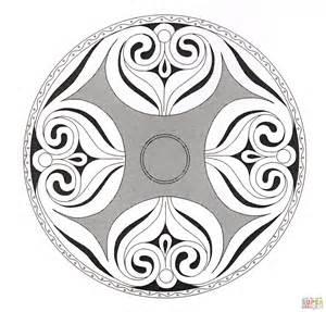 Celtic Mandalas To Color Www Imgkid Com The Image Kid Celtic Mandala Coloring Pages