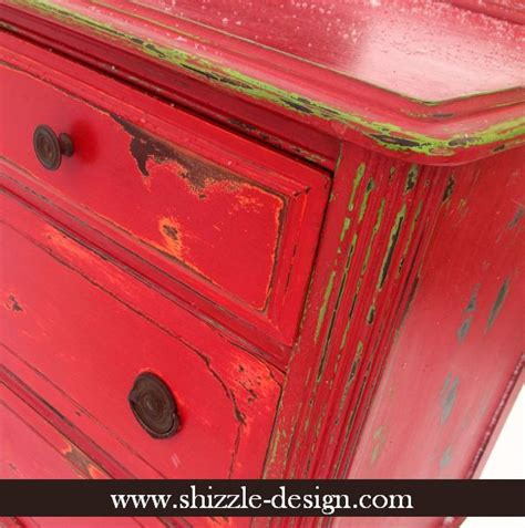 How To Paint Furniture To Look Distressed by Painting And Distressing Furniture A Funky Chunky