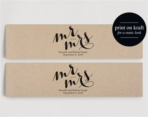 Wedding Water Bottle Labels Personalized Water Bottle Label Mr And Mrs Wedding Pdf Instant Wedding Water Bottle Labels Template Free