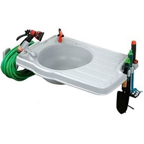 outdoor sink station no plumbing outdoor sink no plumbing required 49 99 green thumb