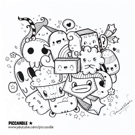 doodle draw channel new a kawaii doodle it on my