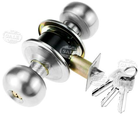 professional satin stainless steel door knobs