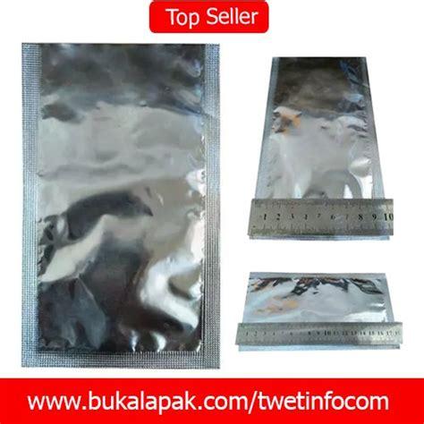 Promo Promo Promo Lakban Alumunium Foil 2 Isolasi 48 X 30m jual plastik kemasan snack alumunium foil sachet 10 x 18 cm di lapak agen plastik dan