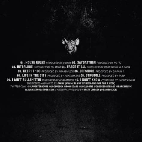 Slaughterhouse House Rules Mixtape Stream Download