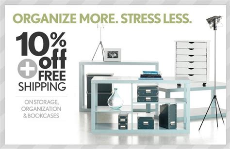 coupon home decorators 10 off free shipping on storage organization at home