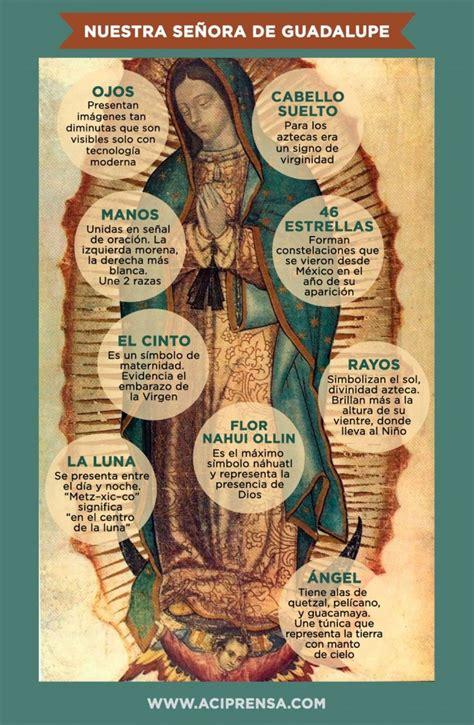 imagen de la virgen de guadalupe que significa detalles de la imagen de la virgen de guadalupe reina