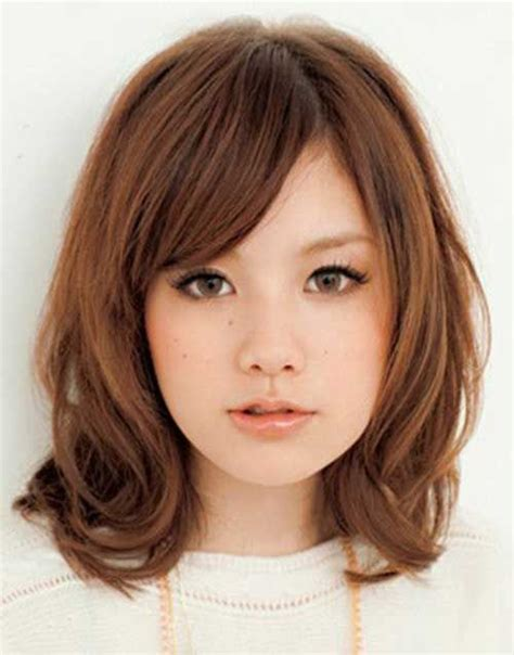 rounded head hairstyles female 1000 ideas about round face hairstyles on pinterest