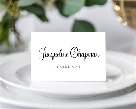 templates for place cards for weddings wedding place cards 183 wedding templates and printables