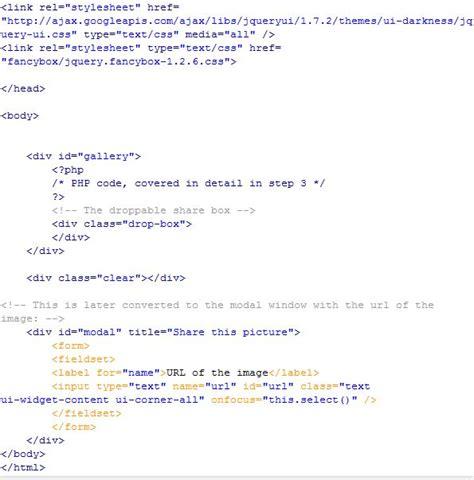 tutorial php dan jquery membuat gallery dengan css3 jquery