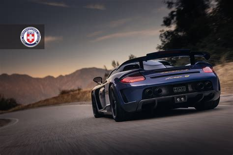 gemballa mirage gemballa mirage gt looks exceptional with hre wheels