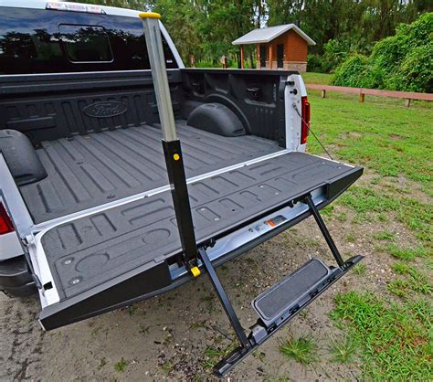 ford  raptor tailgate easy step