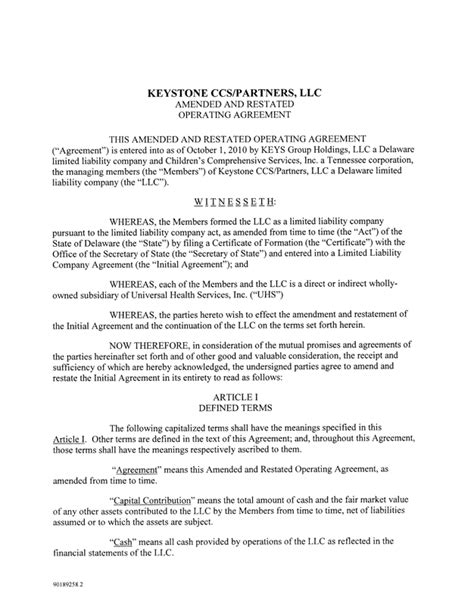 Lease Side Letter Llc Operating Agreement Operating Agreement Template Llc Operating Agreement Template Operating