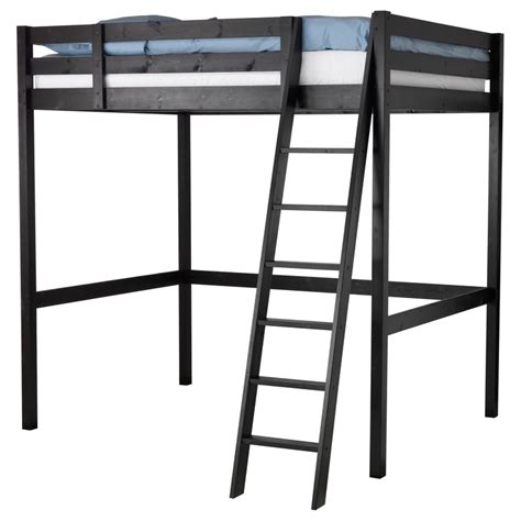 lofted bed frame stor 197 loft bed frame ikea book corners for classroom
