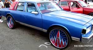 box chevy on dub f u floaters big rims custom wheels