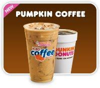 Dunkin Donuts Pumpkin Coffee by You Will Fall For Dunkin Donuts Harvest Menu
