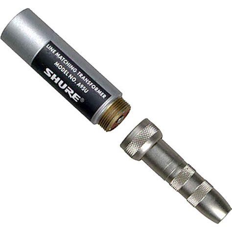 transformer impedance shure a95u reversible impedance line matching transformer a95u