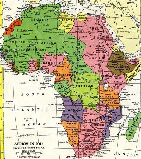 africa map imperialism european imperialism
